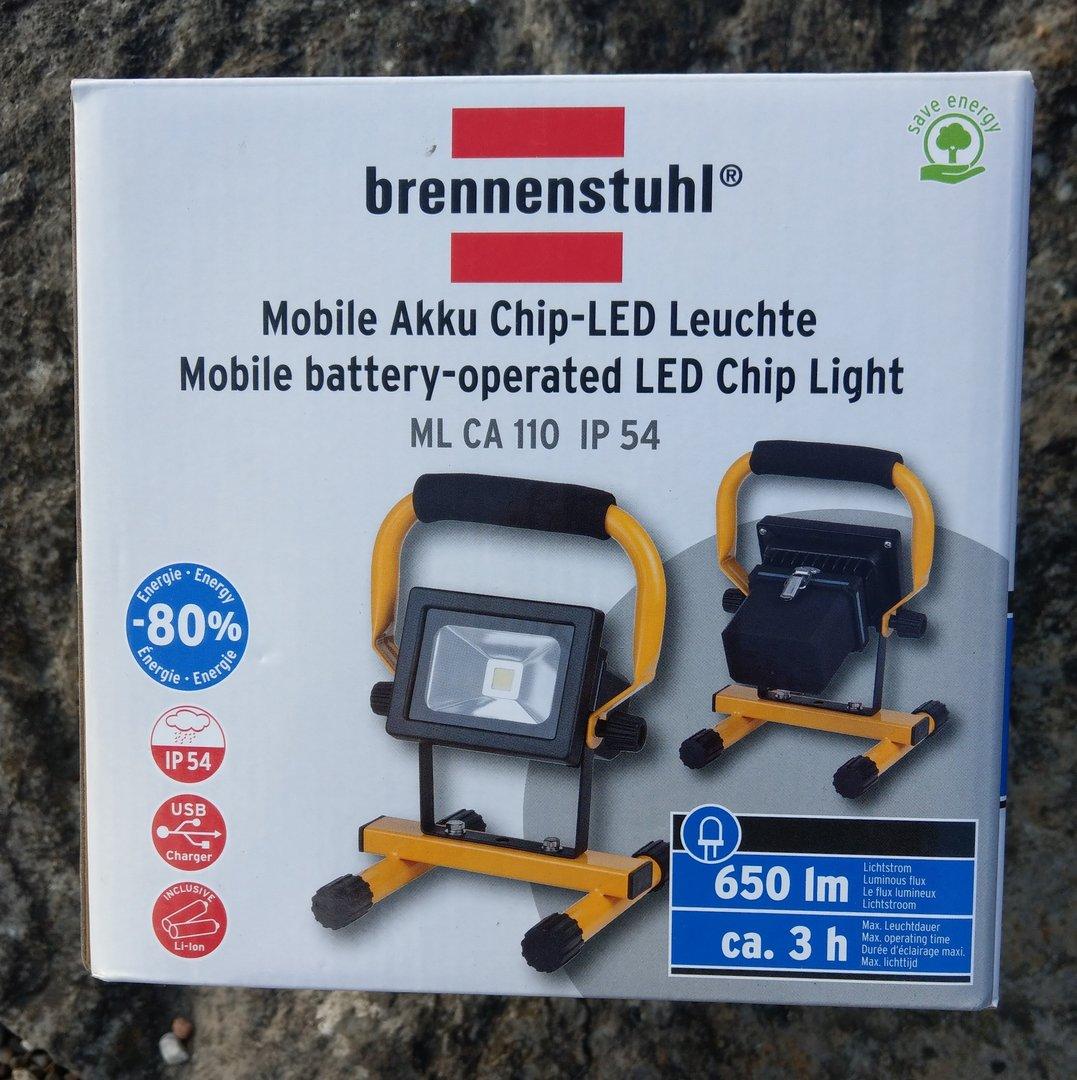 hugo brennenstuhl mobile akku chip led leuchte ip54. Black Bedroom Furniture Sets. Home Design Ideas